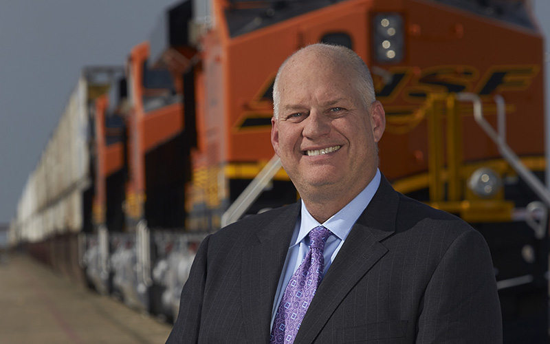 BNSF President and CEO Carl R. Ice named Railroader of the ... Pacific Railway Company